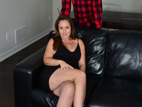 Hot MILF invited the younger guy next door for some hard fucking