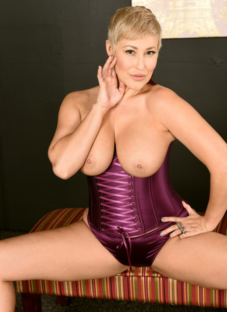 Ryan Keely Purple Corset